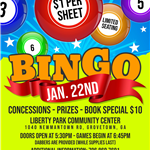 January 2021 Family Bingo Flyer